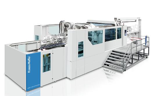 Velké vstřikovací stroje KraussMaffei MX