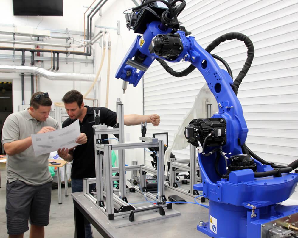 Návrh automatizovaného pracoviště